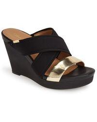 Calvin Klein 'Jileen' Wedge Sandal - Lyst