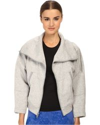 Adidas By Stella McCartney We Fleece Jacket - Lyst