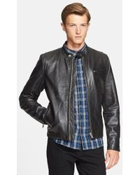Levi's Leather Moto Jacket - Lyst