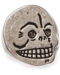 Cheap Monday - Skull Ring - Lyst