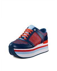 DKNY Jill Platform Sneaker - Lyst