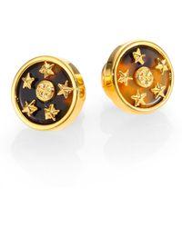 Tory Burch Dellora Star Stud Earrings - Lyst