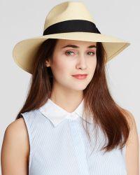 Helene Berman Classic Trilby Hat - Lyst