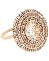 Carat* - Melissa In Padparadscha Cocktail Ring - Lyst
