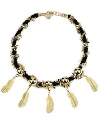 Matthew Williamson - Women's Rope Feather Necklace - Lyst