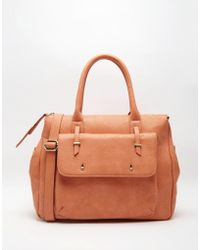 Pieces - Handheld Tote Bag - Lyst