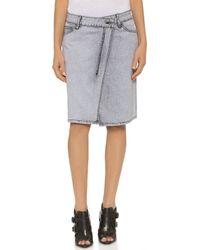 Cheap Monday Over Skirt - Frail Grey - Lyst