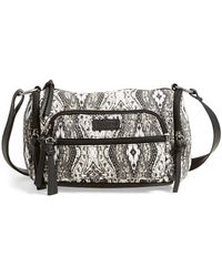 Volcom - 'cruz' Print Shoulder Bag - Lyst