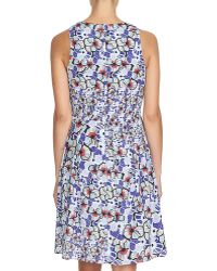 Cynthia Steffe | Floral-print Fit-&-flare Dress | Lyst