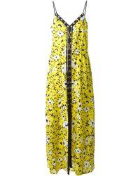 MICHAEL Michael Kors Floral Print Dress - Lyst