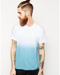 American Apparel Dip Dye T-shirt - Lyst