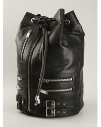 Saint Laurent Rider Bucket Tote - Lyst