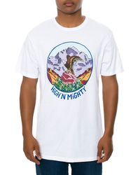 Volcom The High  Mighty Tee - Lyst