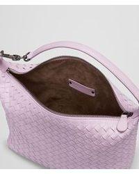 Bottega Veneta Parme Intrecciato Nappa Bag - Pink