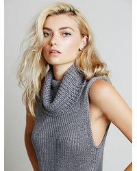 Free People Vertical Sweater Dress - Lyst