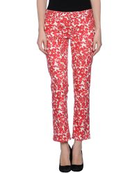 Tory Burch Casual Pants - Lyst
