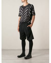 Issey Miyake Printed Tshirt - Lyst