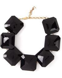 Yves Saint Laurent Vintage Diamond Choker - Lyst