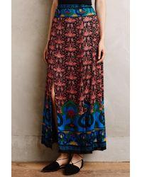 Anna Sui | Sunsong Silk Maxi Skirt | Lyst