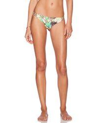 San Lorenzo - Braided Strap Reversible Hipster Bikini Bottom - Lyst
