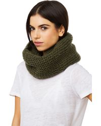 Akira Black Label - Thick Knit Infinity Snood - Lyst
