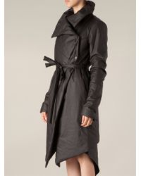 Lost & Found Padded Wrap Coat