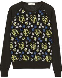 Erdem Carmen Fine-knit and Crocheted Lace Sweater - Lyst