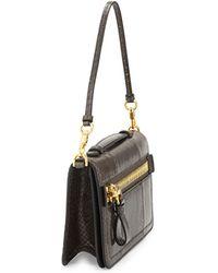 Tom Ford Jennifer Python Clutch Bag with Strap - Lyst