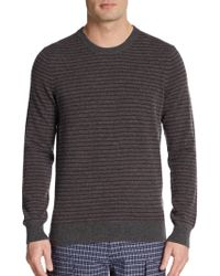 Vince Striped Wool & Cashmere Sweater - Lyst