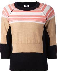 Sonia by Sonia Rykiel Striped Sweater - Lyst