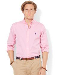 Polo Ralph Lauren End-on-end Poplin Shirt - Lyst