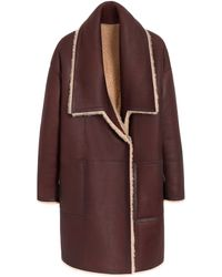 Mulberry Purple Gracie Coat - Lyst