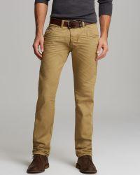 Diesel Jeans Darron Slim Fit in Golden Wheat - Lyst