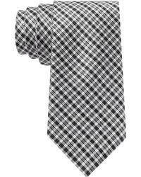 Tommy Hilfiger Micro Gingham Slim Tie - Lyst