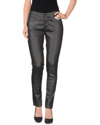 AG Adriano Goldschmied Casual Trouser black - Lyst