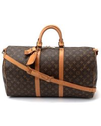 Louis Vuitton Pre-Owned Keepall Bandouliere 50 - Lyst
