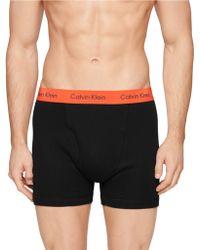 Calvin Klein Three Pack Cotton Classic Boxer Briefs - Lyst