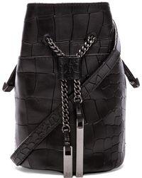 Halston Heritage Mini Bucket Bag - Lyst
