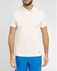 Closed | Pale Pink Short-sleeve Polo Shirt | Lyst
