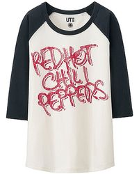 Uniqlo Women Music Icons 3/4 Sleeve Graphic T-Shirt multicolor - Lyst