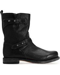 Rag & Bone Moto Boot - Lyst