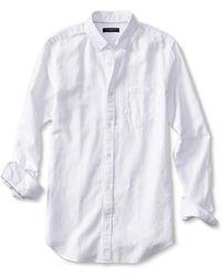 Banana Republic Slim-Fit Linen/Cotton Shirt - Lyst