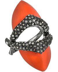 Alexis Bittar Encrusted Shield Ring - Lyst