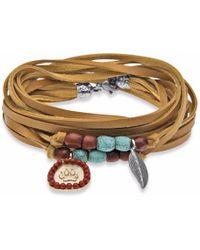 Platadepalo - Classic American Indian Yellow Bracelet - Lyst