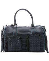 L.a.m.b. Midnight Quilted Leather 'Eady' Convertible Duffel Bag - Lyst