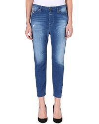 Diesel Eazee Highrise Boyfriend Jeans Blue - Lyst