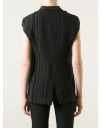 Lost & Found - Striped-Back Waistcoat - Lyst