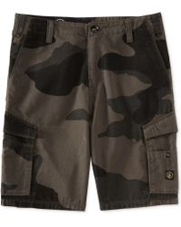 Volcom Mesa Camouflage Cargo Shorts - Lyst