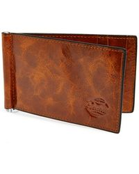Orchill 'captain' Money Clip Wallet - Brown