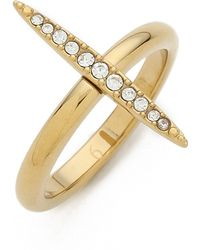 Michael Kors - Matchstick Ring Goldclear - Lyst